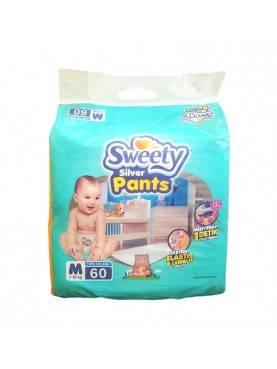 Sweety Silver Pants / Popok Sweety - M60