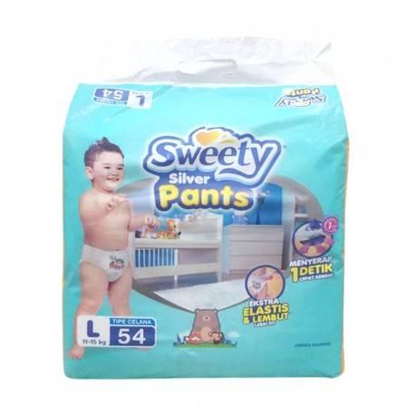 Sweety Silver Pants / Popok Sweety - L54