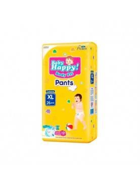 Baby Happy Pants Popok Bayi [Size XL/ 26 pcs]