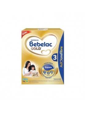 Nutricia Bebelac Gold 3 Susu Formula - Vanilla [700 g]