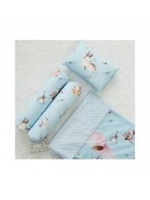 Minky Riley Blanket Set