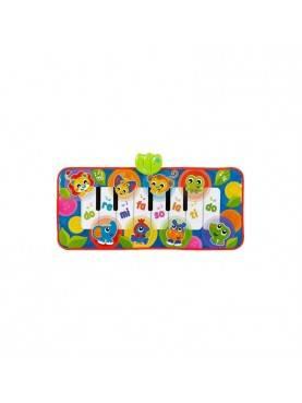 Jumbo Jungle Musical Piano Mat Mainan Bayi