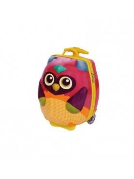 OP3100312 Silikon Lembut Owl Mr.Woo Tas Trolley