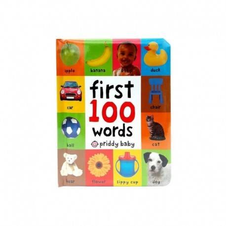 First 100 Words Book Buku Edukasi Anak