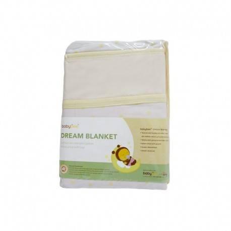 Dream Blanket Polka - Coral Yellow