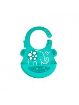 Alat Makan Baby Bib Green Elephant