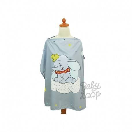 Nursing Apron Dumbo Grey – Printed Cotton