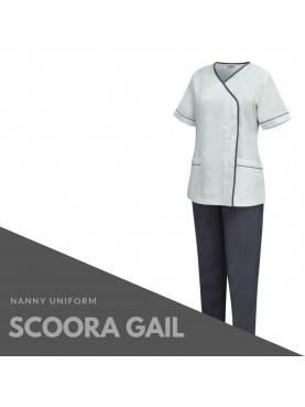Baju Suster SCOORA GAIL (Grey)