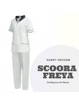 Baju Suster SCOORA FREYA (Clean White)