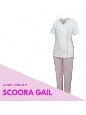Baju Suster SCOORA GAIL (Pink)