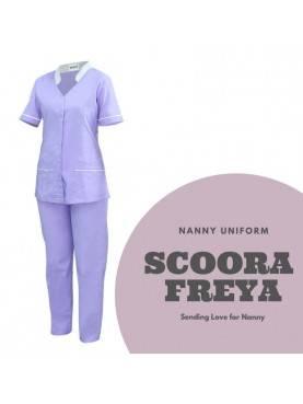 Baju Suster SCOORA FREYA (Violet)