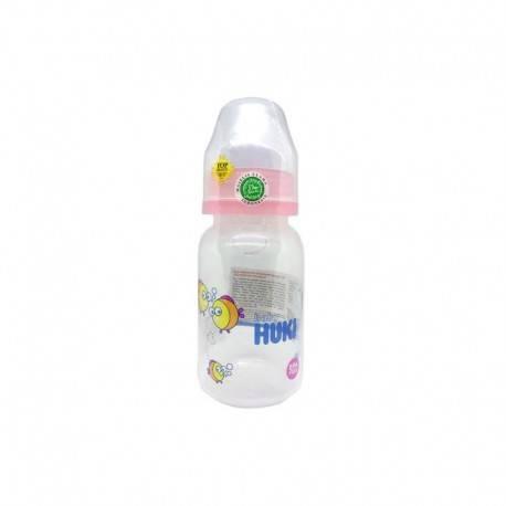 PPSP Round Botol Susu Bayi - Pink [120 mL]