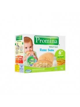 Baby Biscuit Rusk 6+ Rasa Susu Makanan Bayi [130 g]