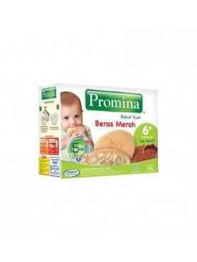 Baby Biscuit Rusk 6+ Beras Merah Makanan Bayi [130 g]