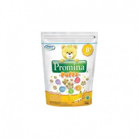 Puffs Pisang Makanan Bayi [15g]