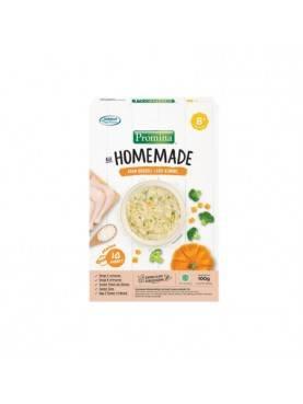 8+ Homemade Bubur Ayam Brokoli Labu Kuning Box - 100gr