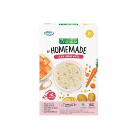 Homemade Bubur Salmon Kentang Wortel Box - 100gr