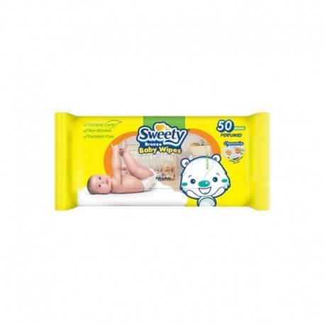 Bronze Baby Wipes Tisu Basah [50 Sheet]