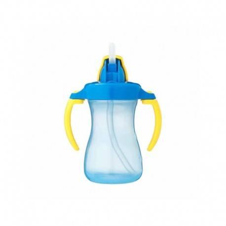 Petite Straw Bottle - Blue