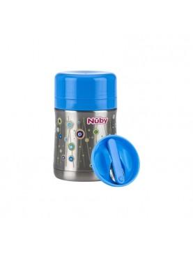 Stainless Steel Food Jar Perlengkapan Makan Anak - Blue