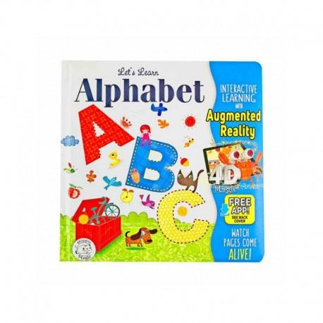 3D Magic Alphabet A B C Augmented Reality Books Buku Cerita Anak