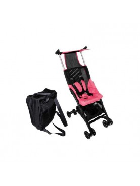 CL 689 Pockit Stroller With Bag – Pink