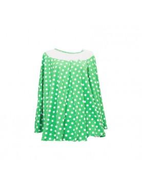 Polka Apron Menyusui - Green