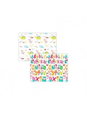 Playmat Alphabet dan Dino Alas Lantai Bermain Anak [200 x 150 x 1.5 cm]