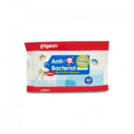 Anti Bacterial Wet Tissue Reffil [60 Pcs]