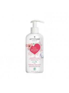 Baby Leaves 2 in 1 Shampoo & Body Wash - Orange & Pomegranate [473 mL]