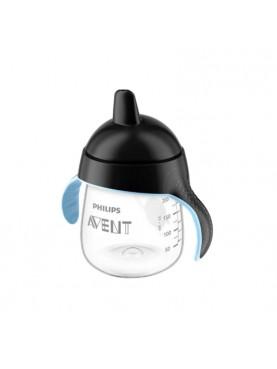 Premium Single Spout Cup - Black [9 Oz]