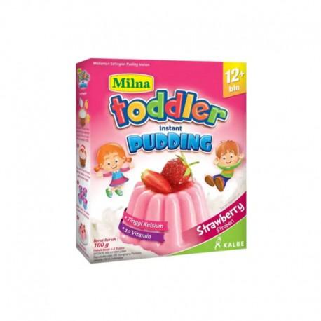 Toddler Instant Pudding Strawberry 12m+ Makanan Bayi