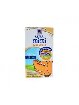Ultra Jaya Ultra Mimi Rasa Vanila Susu [125 mL/1 Dus]