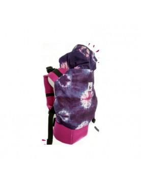 SSC Shibori Magenta Standard Baby Carrier Ergonomic