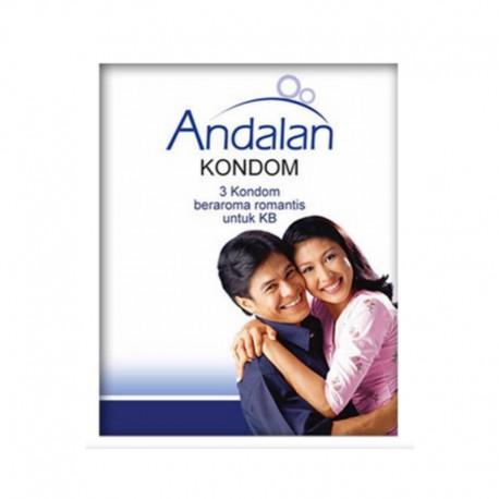 Kondom - 3 Pcs - Alat Kontrasepsi Andalan
