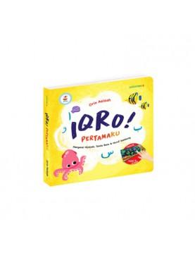 Iqro pertamaku BK0050 (Buku Wipe Clean Anak Muslim Mizan)