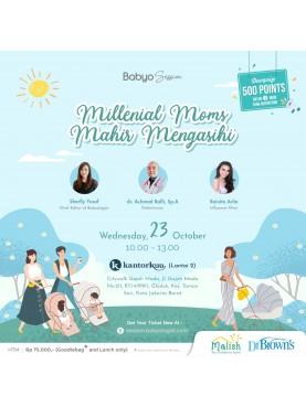 """Millenial Moms Mahir Mengasihi """"23 Oktober 2019"""""""