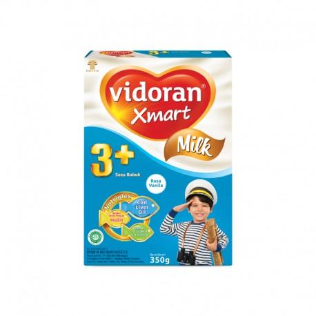 Xmart 3+ Nutriplex Vanilla Susu Formula [350 g / 2 pcs]