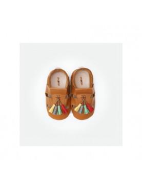 Bora Moccasins Sandals - Caramel