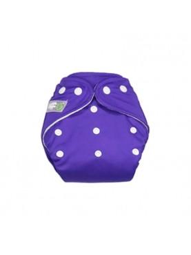 Clodi Popok Kain Bayi Little Hippo Eco Purple