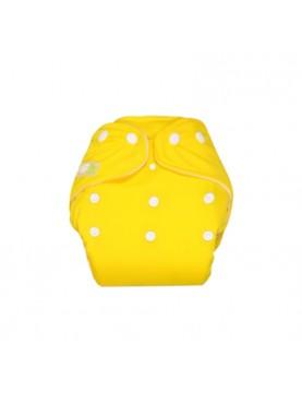 Clodi Popok Kain Bayi Little Hippo Eco Yellow