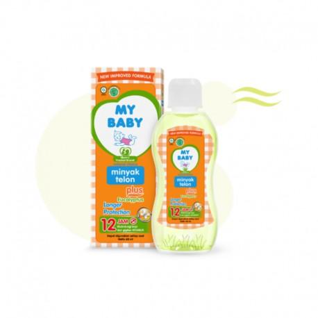 Minyak Telon Plus Eucalyptus Longer Protection
