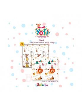 Playmat Yofi Jump To Start + Indian Village