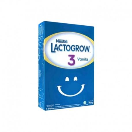 Lactogrow 3 Vanilla Susu Formula [750 g]