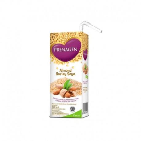 Mommy UHT Almond Barley Soya 200ml