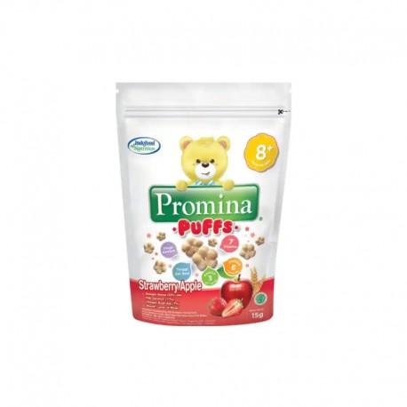 Strawberry Apple Puff Snack Bayi [15 g]