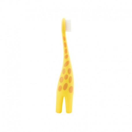 Infant to Toddler Toothbrush, Giraffe, 1-pack / Sikat gigi anak