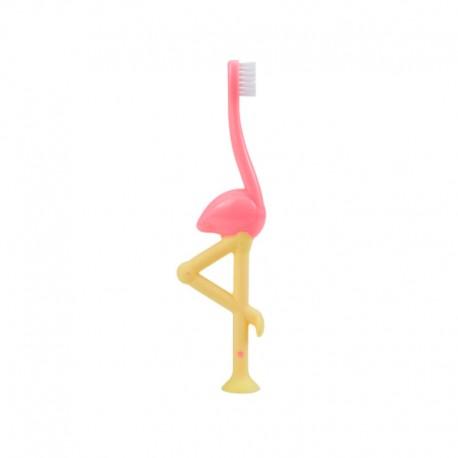 Toddler Toothbrush, Flamingo, 1-pack / Sikat gigi anak