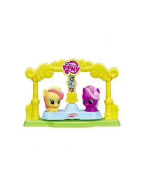 My Little Pony Bumblesweet & Cheerilee Friends Go-Round Set Mini Figure
