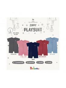 Little Palmerhaus Zippy Playsuit